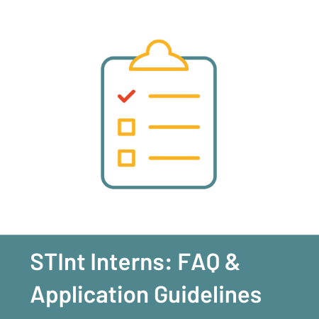 STInt Interns: FAQ & Application Guidelines