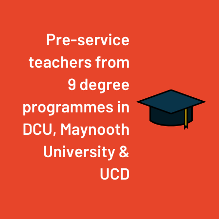 Pre-service Teachers From 9 Degree Programmes In DCU, Maynooth University & UCD